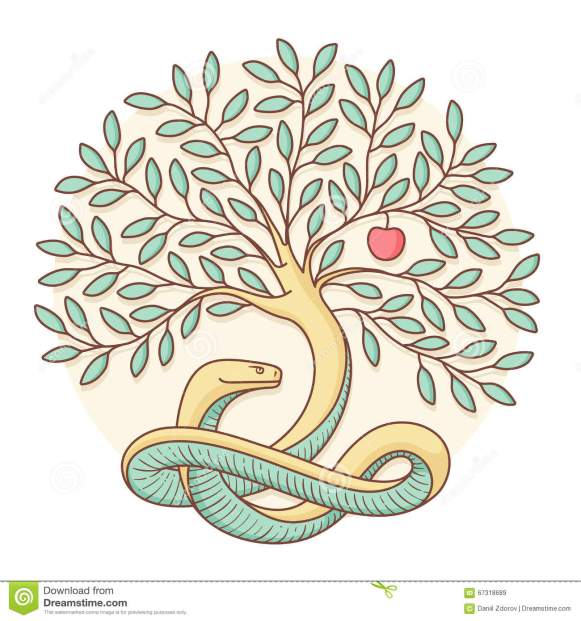 tree-knowledge-good-evil-snake-apple-colorful-design-vector-illustration-67318689