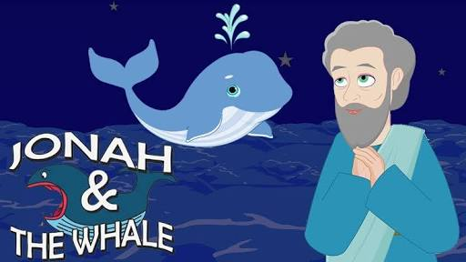 Jonah fell out the whale.