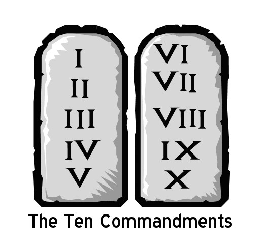 This image has an empty alt attribute; its file name is 10-commandments.jpg